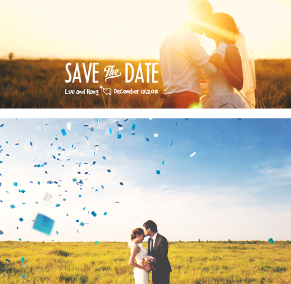 40 Inspiring Save The Date Photography Examples To Amaze You