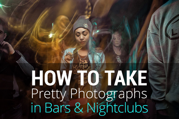taking photos in bars