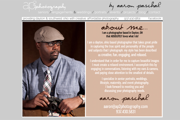 Highly intelligent about me page tips for photographers for Photography bio template