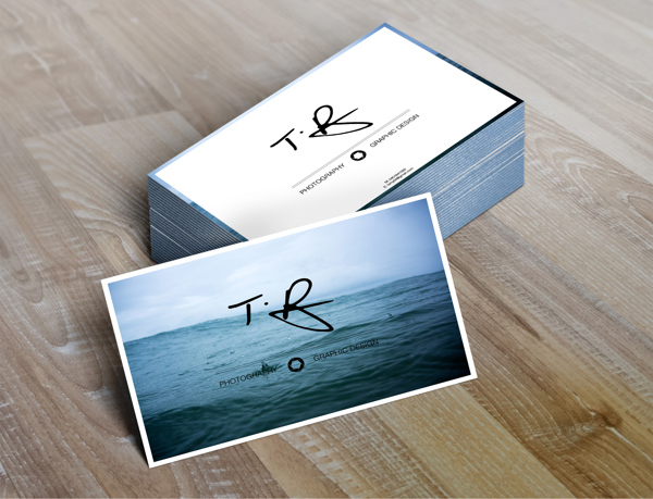 Business Cards Photography