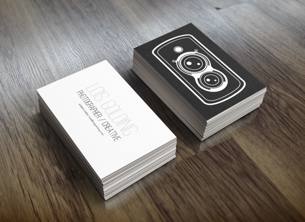 Creative Photography Business Card Designs For Inspiration - Photography business card template