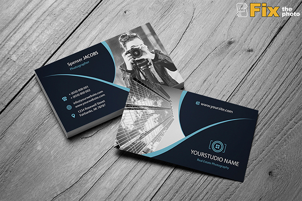40 creative photography business card designs for inspiration fixthephoto free photography business card templates reheart Choice Image