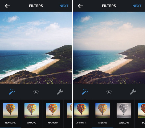 How to make instagram filters in photoshop sierra brannan instagram normal and sierra photo effects screenshot ccuart Image collections