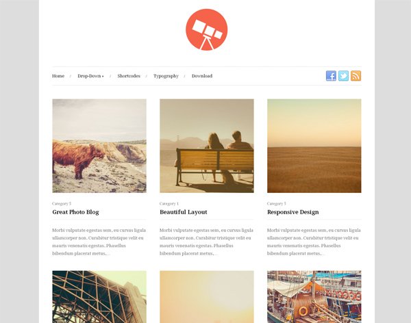 25 Fresh & Free Portfolio Wordpress Themes 2014