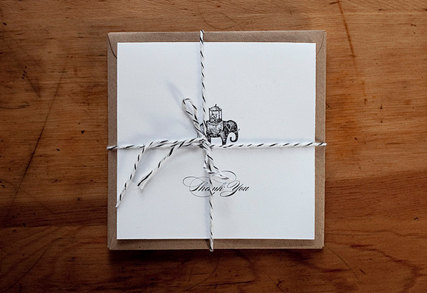 20 gorgeous thank you card ideas for photographers for Wedding photography packaging ideas