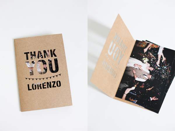 20 Gorgeous Thank You Card Ideas for Photographers – Wedding Thank You Card Designs