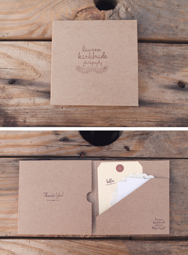20 gorgeous thank you card ideas for photographers
