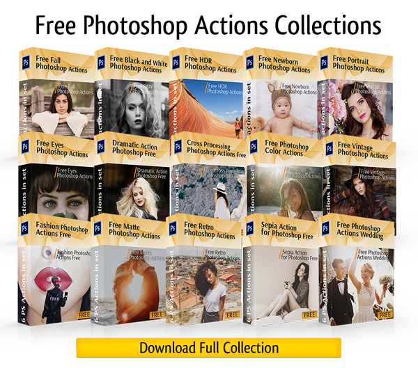 20+ Fantastic Free Photoshop Actions for Your Photography