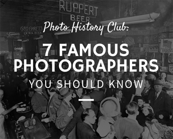 [2018 Updated] 26 Famous Photographers to Inspire You