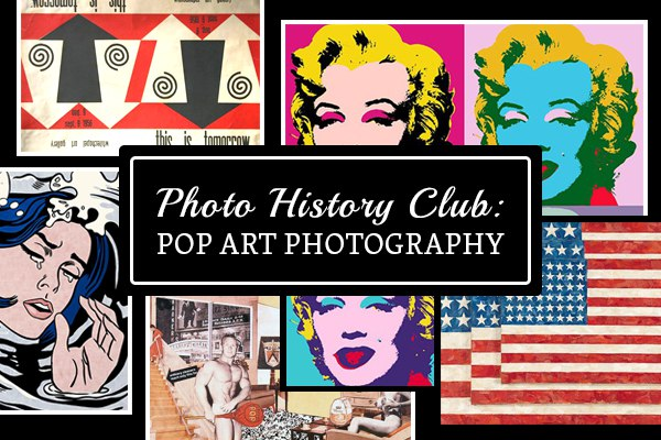 Photo History Club Pop Art Photography
