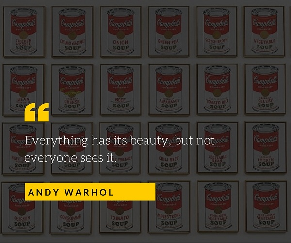 Andy Warhol Quote for Photographers