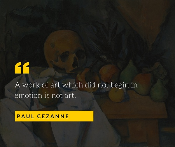 Paul Cezanne Quote for Photographers