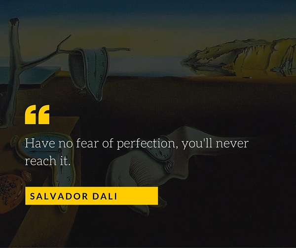Salvador Dali Quote for Photographers