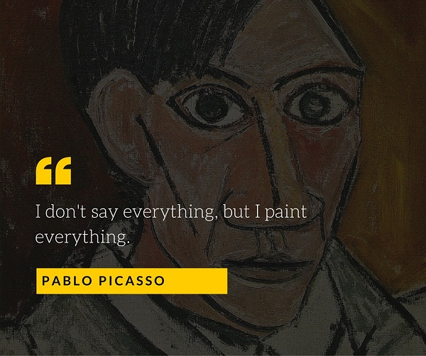 Pablo Picasso Quote for Photographers