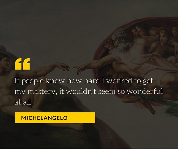 Michelangelo Quote for Photographers