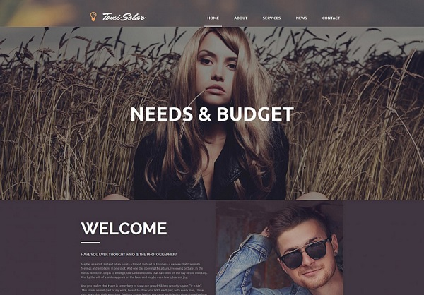 Art & Photography MotoCMS 3.0 Template