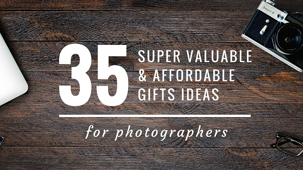 Affordable Gift Ideas for Photographers on Photodoto