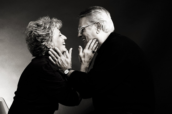 Senior Couple - Ideas for a Valentine Photo Shoot