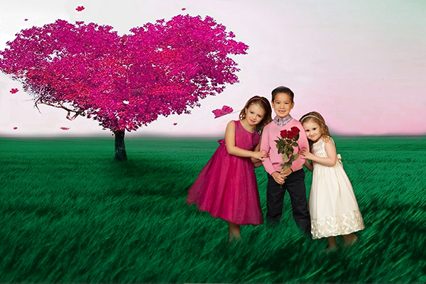 Kids Photos - Ideas for a Valentine Photo Shoot