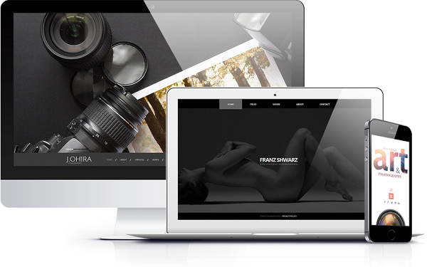 MotoCMS photography websites
