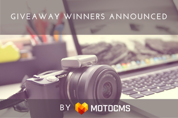 Winners of Portfolio Website CMS Giveaway Announced