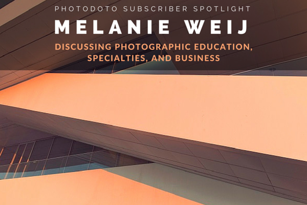 Photographic Education, Specialties and Business: Interview with Melanie Weij