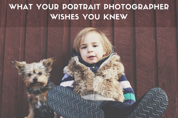 How to Prepare for a Portrait Session
