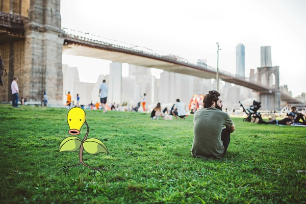 Brooklyn Bridge Pokemon Go Photo