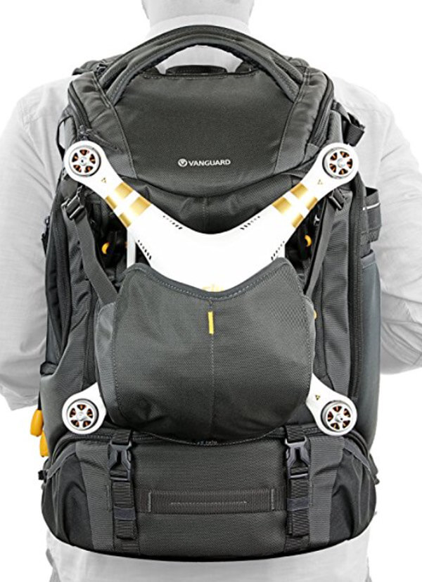 3d30cd59 This backpack can do it all, with compartments for your DSLR, lenses,  drone, tripod, batteries, etc.