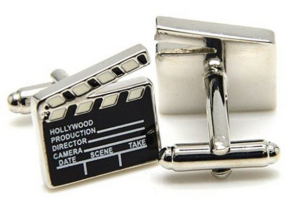 gifts for filmmakers-cufflinks