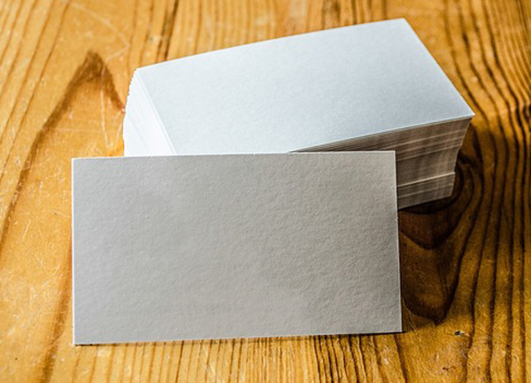 business cards- texture