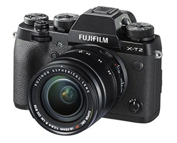 cameras for real estate- Fujifilm X-T2