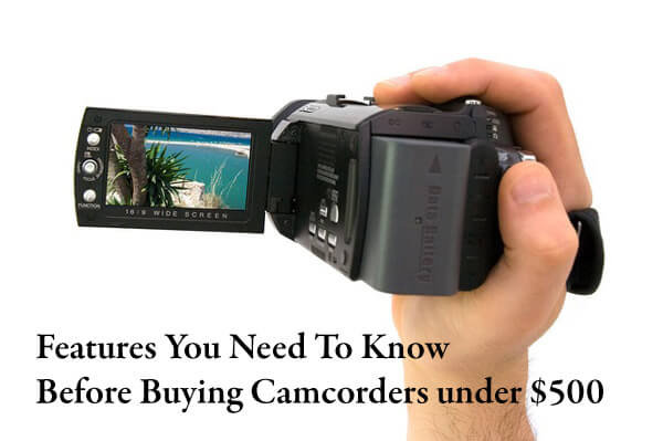 camcorder features-main