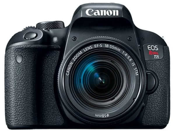 best dslr for beginners- canon eos 800d