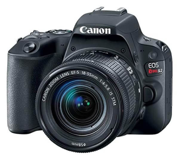 best dslr for beginners- canon rebel sl2