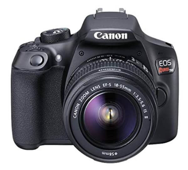 best dslr for beginners- canon rebel t6