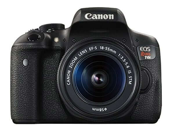 best dslr for beginners- canon rebel t6i