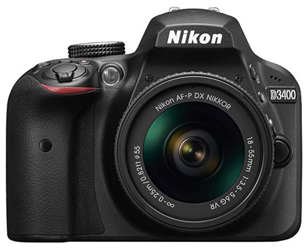best dslr for beginners- nikon d3400