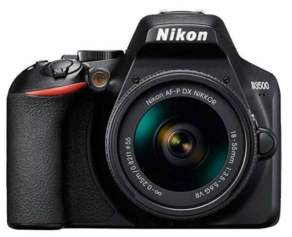 best dslr for beginners- nikon d3500