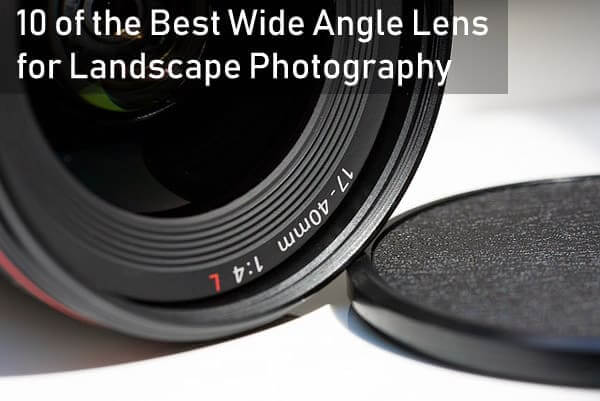 wide angle lens for landscape- title