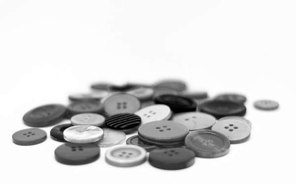 Buttons-in-black-and-white