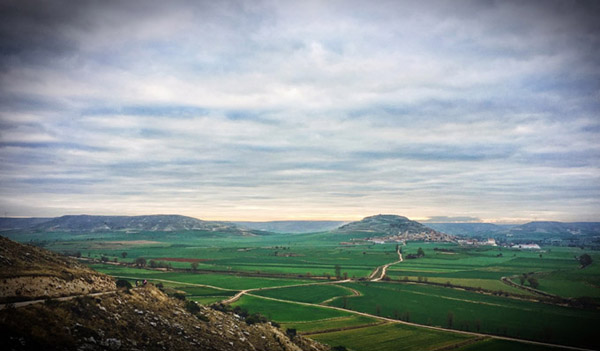 landscape with vignetting