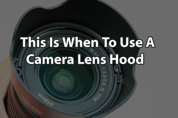 lens with hood