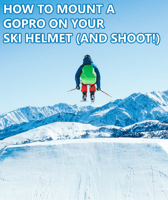 Following a jumping skier